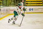 4 January 2014:  University of Vermont Catamount defender Ashley Salerno, a Senior from Brunswick, Maine, in action against the Syracuse University Orange, in non-conference play at Gutterson Fieldhouse in Burlington, Vermont. The Orange defeated the UVM Lady Cats 4-3 in their first ever NCAA meeting. Mandatory Credit: Ed Wolfstein Photo *** RAW (NEF) Image File Available ***