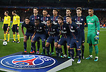 PSG's team group during the Champions League group A match at the Emirates Stadium, London. Picture date November 23rd, 2016 Pic David Klein/Sportimage