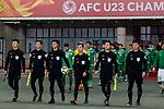 Saudi Arabia vs Iraq during the AFC U23 Championship China 2018 Group C match at Changshu Sports Center on 13 January 2018, in Changshu, China. Photo by Yu Chun Christopher Wong / Power Sport Images