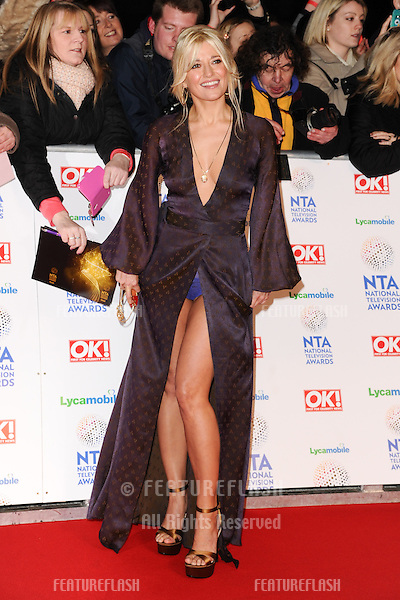 Rachel Wilde<br /> arrives for the National TV Awards 2014 at the O2 arena, Greenwich, London.22/01/2014 Picture by: Steve Vas