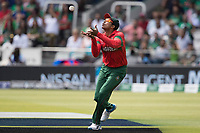 Soumya Sarkar (Bangladesh) takes the catch to dismiss Haris Sohail (Pakistan) during Pakistan vs Bangladesh, ICC World Cup Cricket at Lord's Cricket Ground on 5th July 2019