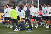 24.03.2016: Training der Nationalmannschaft