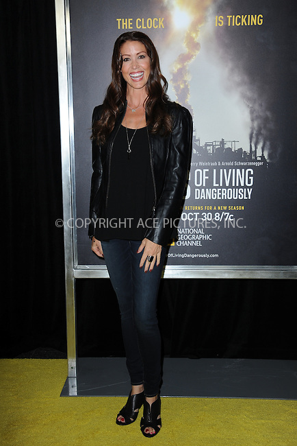 www.acepixs.com<br /> September 21, 2016  New York City<br /> <br /> Shannon Elizabeth attending National Geographic's 'Years Of Living Dangerously' new season world premiere at the American Museum of Natural History on September 21, 2016 in New York City. <br /> <br /> Credit: Kristin Callahan/ACE Pictures<br /> <br /> <br /> Tel: 646 769 0430<br /> Email: info@acepixs.com