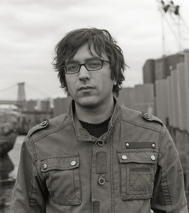 Aaron Simon, 2009.  Poet.