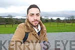 London actor Moncef Mansun left who is originally from Aghadoe acting in a the KASI movie Barzakh which was filmed in Killarney over the weekend