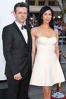 "WESTWOOD, LOS ANGELES, CA, USA - MAY 15: Michael Sheen, Sarah Silverman at the Los Angeles Premiere Of Universal Pictures And MRC's ""A Million Ways To Die In The West"" held at the Regency Village Theatre on May 15, 2014 in Westwood, Los Angeles, California, United States. (Photo by Xavier Collin/Celebrity Monitor)"