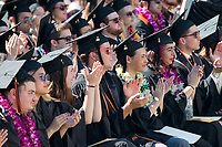 (Photo by Willie Siau '18)<br /> <br /> Occidental College commencement for the class of 2017, May 21, 2017.<br /> (Photo by Willie Siau '18)