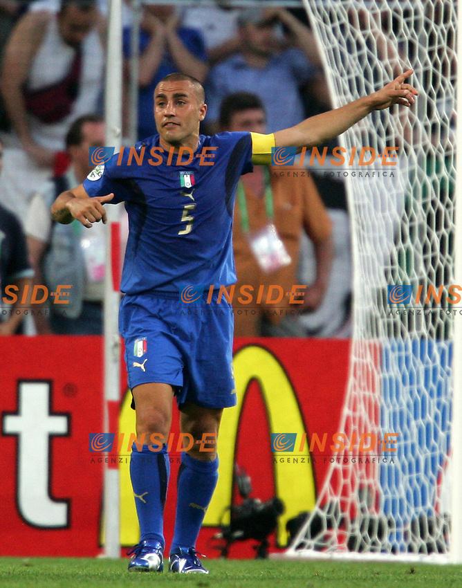 Hanover 12/6/2006 World Cup 2006.Italia Ghana 2-0.Photo Andrea Staccioli Insidefoto.FAbio Cannavaro Italy
