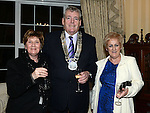 Chairperson of Louth County Council Finan McCoy, Mary Balfe and Veronica King pictured at the Ardee Traders awards night in Darver Castle. Photo:Colin Bell/pressphotos.ie