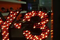 Y-3 neon sign