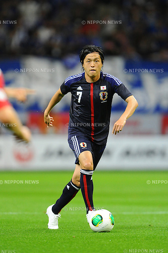 Yasuhito Endo (JPN),<br /> MAY 30, 2013 - Football / Soccer :<br /> Kirin Challenge Cup 2013 match between Japan 0-2 Bulgaria at Toyota Stadium in Aichi, Japan. (Photo by AFLO)