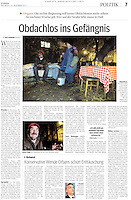 KURIER (main Austrian newspaper)..2011/11/23.Photos: Martin Fejer