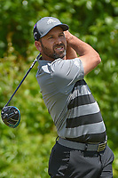 Sergio Garcia (ESP) watches his tee shot on 2 during Round 2 of the Zurich Classic of New Orl, TPC Louisiana, Avondale, Louisiana, USA. 4/27/2018.<br /> Picture: Golffile | Ken Murray<br /> <br /> <br /> All photo usage must carry mandatory copyright credit (&copy; Golffile | Ken Murray)