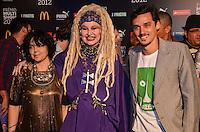ATENCAO EDITOR: FOTO EMBARGADA PARA VEICULOS INTERNACIONAIS. - RIO DE JANEIRO, RJ,19 DE SETEMBRO 2012 - PREMIO MULTISHOW 2012- Elke Maravilha na cerimonia de entrega do Premio Multishow  na noite desta terca dia 18 de setembro, no HSBC Arena, na Barra da Tijuca, zona oestedo Rio de Janeiro.(FOTO: MARCELO FONSECA / BRAZIL PHOTO PRESS).