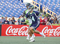 Annapolis, MD - July 7, 2018: Chesapeake Bayhawks Jeremy Sieverts (14) in action during the game between New York Lizards and Chesapeake Bayhawks at Navy-Marine Corps Memorial Stadium in Annapolis, MD.   (Photo by Elliott Brown/Media Images International)