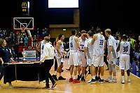 GRONINGEN - Basketbal, Donar - ZZ Leiden, Supersup, seizoen 2018-2019, 06-10-2018,  Donar viert de winst in de supercup