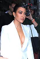 NEW YORK, NY - February 07: Kourtney Kardashian seen arriving at NBC's Today Show in New York City on February 07, 2019. <br /> CAP/MPI/RW<br /> &copy;RW/MPI/Capital Pictures