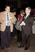February 16, 2012. Raleigh, NC..  Tony Gurley, right..  The North Carolina Republicans held their 2012 Precinct Meeting at Dorton Arena with former Charlotte mayor Pat McCrory as the key note speaker.