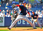 7 March 2009: Washington Nationals' pitcher Scott Olsen on the mound during a Spring Training game against the New York Mets at Tradition Field in Port St. Lucie, Florida. The Nationals defeated the Mets 7-5 in the Grapefruit League matchup. Mandatory Photo Credit: Ed Wolfstein Photo