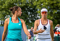 Rosmalen, Netherlands, 11 June, 2019, Tennis, Libema Open, Womans doubles: Lesley Kerkhove (NED) and Bibiane Schoofs (NED) (R)<br /> Photo: Henk Koster/tennisimages.com