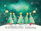 Isabella, CHRISTMAS SYMBOLS, corporate, paintings, trees, stars(ITKE501623,#XX#) Symbole, Weihnachten, Geschäft, símbolos, Navidad, corporativos, illustrations, pinturas
