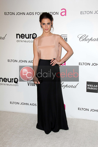 Jessica Lowndes<br /> at the Elton John Aids Foundation 21st Academy Awards Viewing Party, West Hollywood Park, West Hollywood, CA 02-24-13<br /> David Edwards/DailyCeleb.com 818-249-4998
