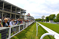 A general view of the course during Afternoon Racing at Salisbury Racecourse on 16th May 2019