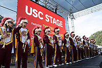 USC Marching Band opens the Los Angeles Times Festival of Books held at the USC Campus in Los Angeles, California on Sunday, April 14, 2019