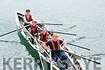 l-r  David Sheehan, Shannon Mansell Cronin, Ann Mansell and William Goodwin at the Maharees Regatta on Sunday