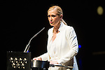 President of Madrid community Cristina Cifuentes during the presentation of the annual program of thaters Canal in Madrid. Jun 30,2016. (ALTERPHOTOS/Rodrigo Jimenez)