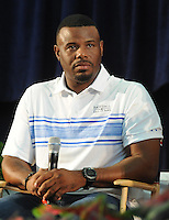 NEW YORK, NY - July 23:  Ken Griffey Jr. attends a pre-induction press conference on July 23, 2016 in Cooperstown, New York.  Photo Credit:John Palmer/ MediaPunch.