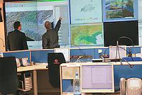 - operational room of the Civic Protection of Lombardy Region....- sala operativa della Protezione Civile della Regione Lombardia