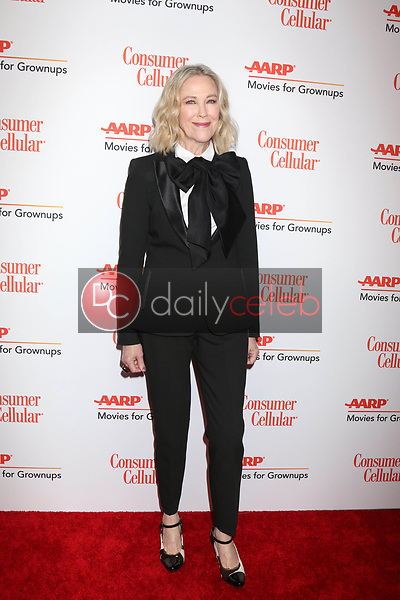 Catherine O'Hara<br /> at the AARP Movies for Growups Awards, Beverly Wilshire Hotel, Beverly Hills, CA 02-04-19<br /> David Edwards/DailyCeleb.com 818-249-4998