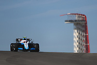 1st November 2019; Circuit of the Americas, Austin, Texas, United States of America; Formula 1 United Sates Grand Prix, practice day; ROKiT Williams Racing, Robert Kubica - Editorial Use