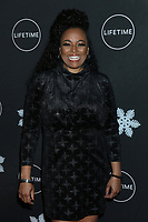 """LOS ANGELES - OCT 22:  Kim FIelds at the """"It's A Wonderful Lifetime"""" Holiday Party at the STK Los Angeles on October 22, 2019 in Westwood, CA"""