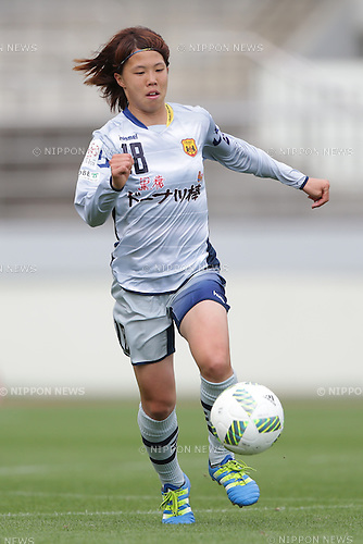 Hina Sugita (Leonessa), April 30, 2016 - Football / Soccer : Hina Sugita of INAC Kobe Leonessa runs with the ball during the Nadeshiko League match between Urawa Reds Ladies and INAC Kobe Leonessa at Urawa Komaba Stadium in Saitama, Japan (Photo by AFLO)
