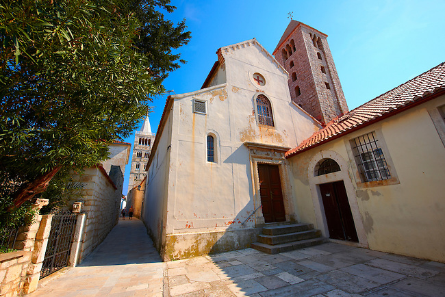 The Chapel of the Benedictine Nunnery of St Andrew, Rab town, Rab Island, Croatia.