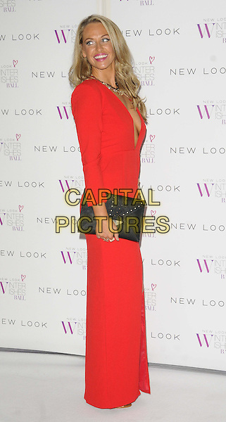LONDON, ENGLAND - NOVEMBER 06: Josie Gibson at the New Look Winter Wishes Ball, Battersea Evolution, Battersea Park on November 6th, 2013 in London, England, UK.<br /> CAP/CAN<br /> &copy;Can Nguyen/Capital Pictures