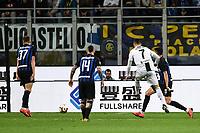 Cristiano Ronaldo of Juventus scores goal of 1-1 <br /> Milano 27-04-2019 Stadio Giuseppe Meazza <br /> Football Serie A 2018/2019 FC Internazionale - Juventus FC <br /> photo Image Sport / Insidefoto