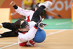 Rie Urata (JPN),<br /> SEPTEMBER 12, 2016 - Goalball : <br /> Preliminary Round<br /> match between Japan - Algeria<br /> at Future Arena<br /> during the Rio 2016 Paralympic Games in Rio de Janeiro, Brazil.<br /> (Photo by Shingo Ito/AFLO)