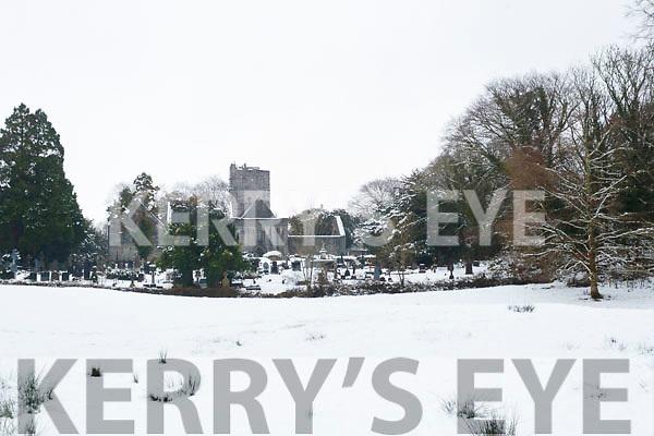 Snow in Killarney National Park, on Saturday last.