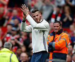 David De Gea of Manchester United applauds the crowd during the English Premier League match at the Old Trafford Stadium, Manchester. Picture date: May 21st 2017. Pic credit should read: Simon Bellis/Sportimage
