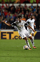 Pictured: Alejandro Pozuelo.<br /> Monday 16 September 2013<br /> Re: Barclay's Premier League, Swansea City FC v Liverpool at the Liberty Stadium, south Wales.
