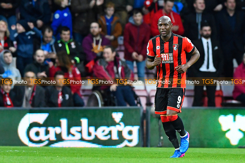 Benik Afobe of AFC Bournemouth scored the first goal of the match during AFC Bournemouth vs Swansea City, Premier League Football at the Vitality Stadium on 18th March 2017