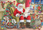 Interlitho-Dani, CHRISTMAS SANTA, SNOWMAN, WEIHNACHTSMÄNNER, SCHNEEMÄNNER, PAPÁ NOEL, MUÑECOS DE NIEVE, paintings+++++,santa,KL6140,#x#