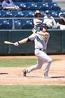 Eugene Emeralds catcher Matthew Colantonio #8 at bat during a game against the Everett AquaSox at Everett Memorial Stadium on June 26, 2011 in Everett, WA.  Eugene defeated Everett 14-4.  (Ronnie Allen/Four Seam Images)
