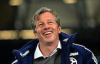FUSSBALL   1. BUNDESLIGA   SAISON 2012/2013    29. SPIELTAG FC Schalke 04 - Bayer 04 Leverkusen                        13.04.2013 Trainer Jens Keller (FC Schalke 04)