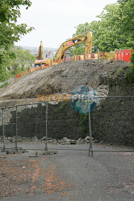 Work being carried out on poor house lane.Picture: Shane Maguire / www.newsfile.ie.