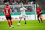 01.05.2019, RheinEnergie Stadion , Köln, GER, DFB Pokalfinale der Frauen, VfL Wolfsburg vs SC Freiburg, DFB REGULATIONS PROHIBIT ANY USE OF PHOTOGRAPHS AS IMAGE SEQUENCES AND/OR QUASI-VIDEO<br /> <br /> im Bild | picture shows:<br /> Alexandra Popp (VfL Wolfsburg #11) vor Rebecca Knaak (SC Freiburg Frauen #8) am Ball, <br /> <br /> Foto © nordphoto / Rauch