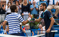 MARIN CILIC (CRO), FELICIANO LOPEZ (ESP)<br /> <br /> TENNIS - AEGON CHAMPIONSHIPS - QUEEN'S CLUB - ATP - 500 - BARON'S COURT, LONDON, GB - 2017  <br /> <br /> <br /> &copy; TENNIS PHOTO NETWORK
